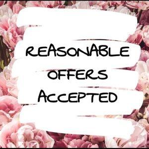 Please make me a reasonable offer!